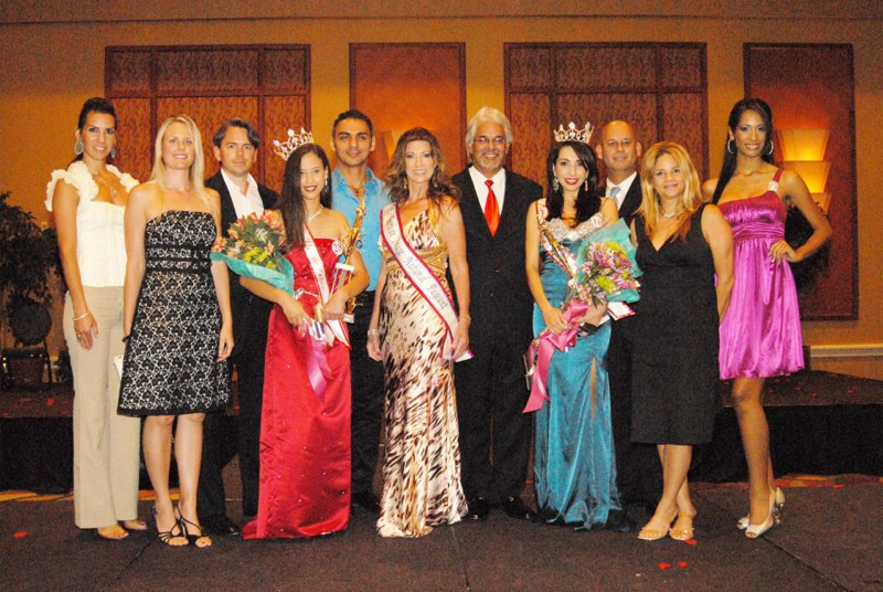 Judging Ms Latina Beauty Contest