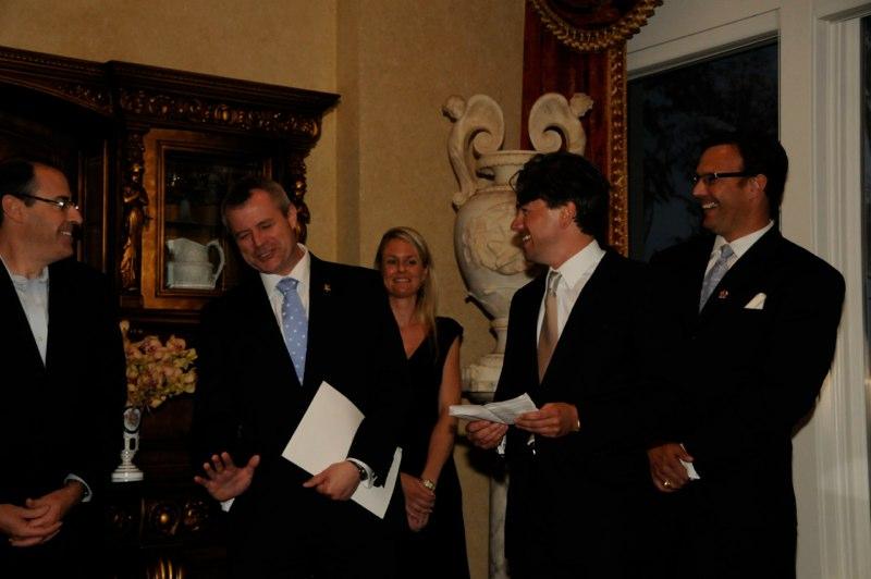 Czech Consulate Inauguration with Ambassador Kolar