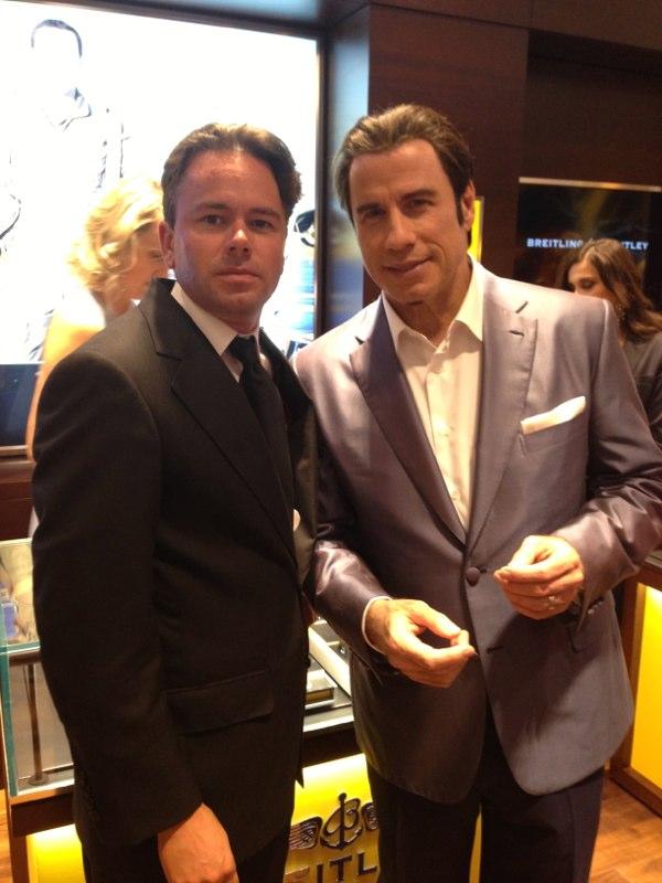 Plane talk with John Travolta