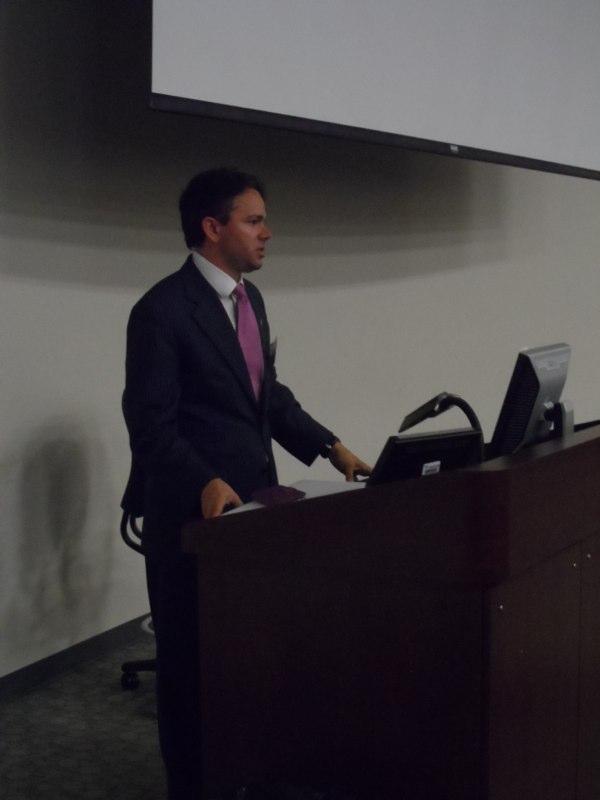 Keynote Speaker at Model United Nations, U.C.F.