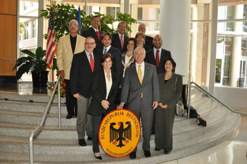 German Consulate  Inauguration
